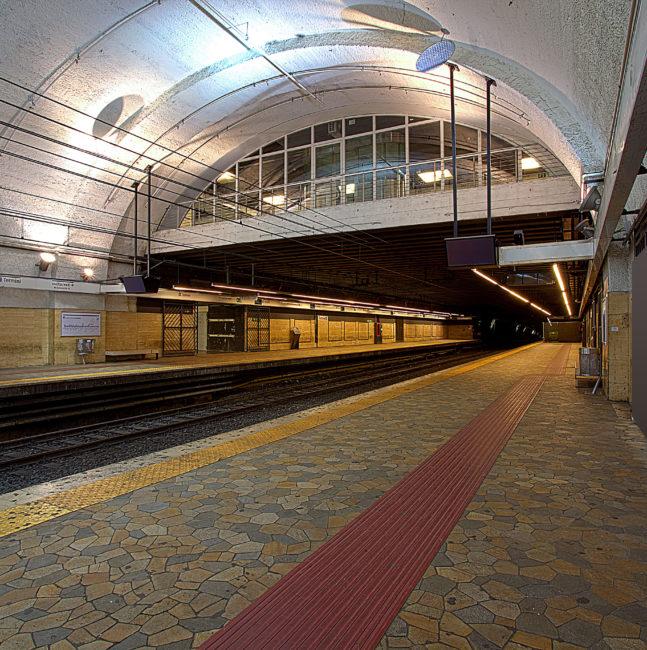 "Termini Junction metro Line ""A"" – Metro Line ""B"""